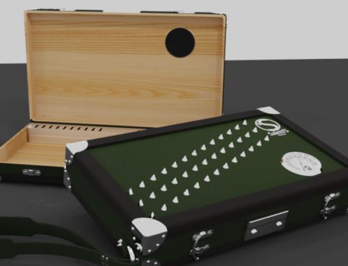 Humidor Cigar Box