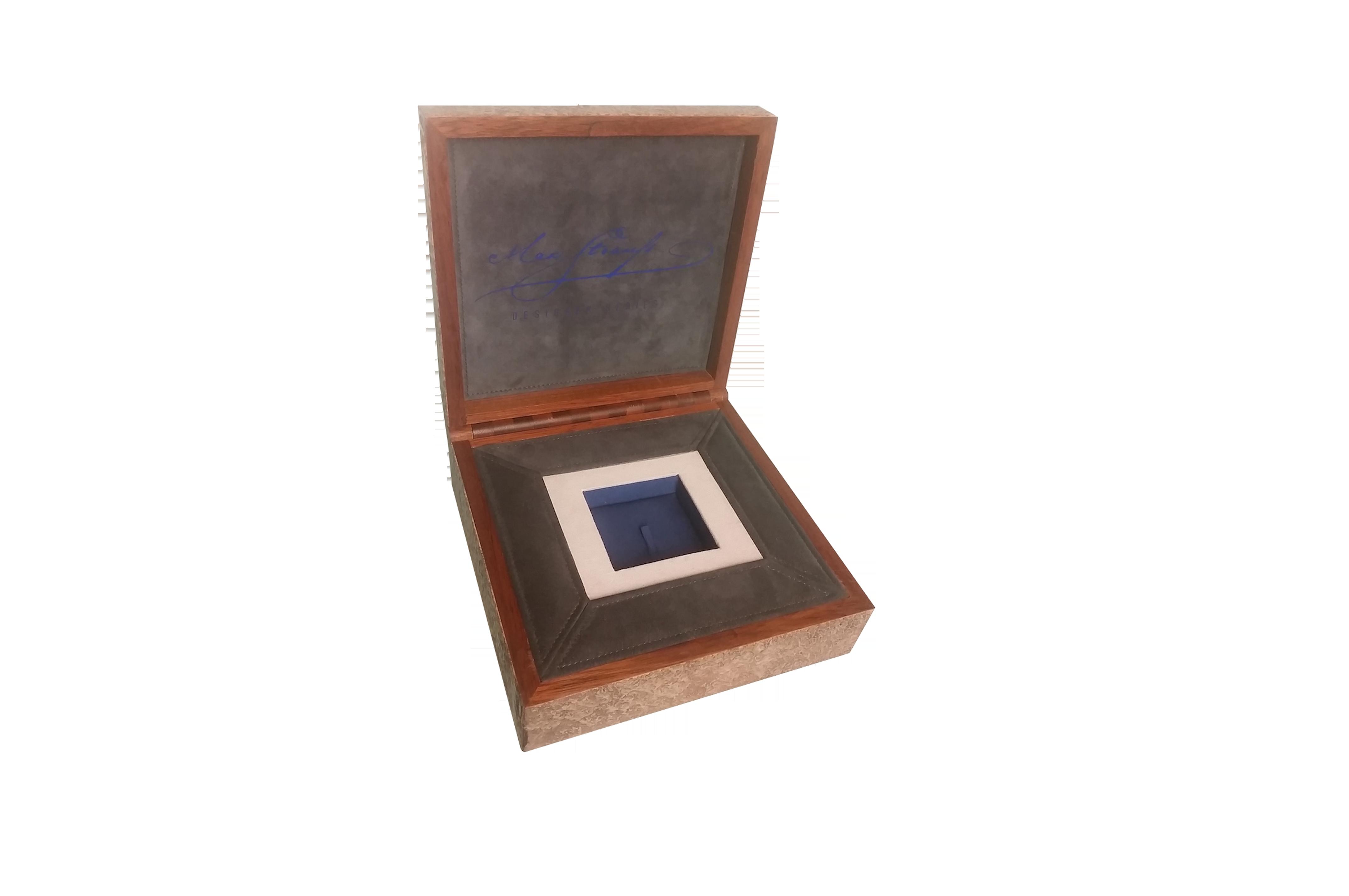 Scatola personalizzata in legno