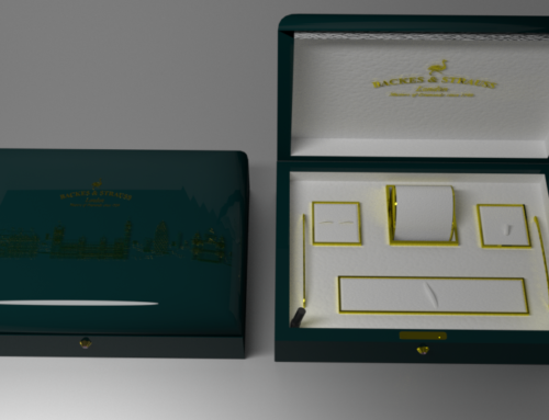 Concept Box for Man's Jewels