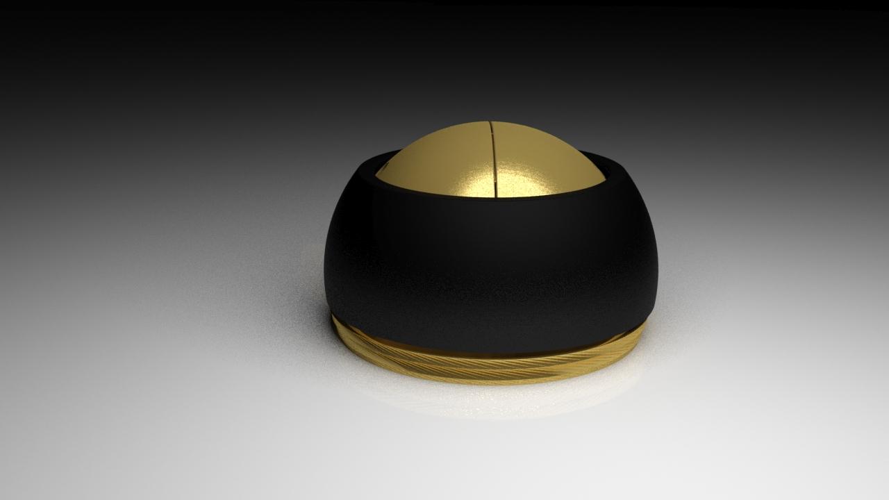 Astuccio personalizzato per orologi e gioielli con apertura girevole